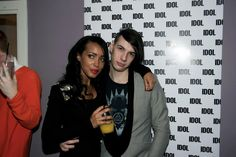 @stylenoir at the @idolmagazine party on friday