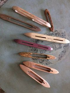 "She's just a girl who creates...: Cute little 6.5"" weaving width sampler loom."