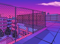 Anime Aesthetic Desktop Wallpaper A collection of the top 57 aesthetic anime desktop wallpapers. - The Universe of Manga Purple Aesthetic, Aesthetic Grunge, Aesthetic Art, Aesthetic Anime, Vaporwave Wallpaper, Vaporwave Art, 8bit Art, Japon Illustration, Landscape Illustration