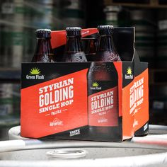 Styrian Golding is only around through the end of August! Don't miss your last chance to taste this zesty single-hopped brew. Grab it on draft or in bottles near you!