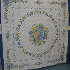 Quilts Etc!: Embroidered Cross-Stitch Quilts