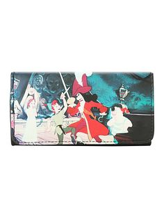 Disney Peter Pan Sword Fight Flap Wallet | Hot Topic