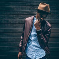 hipster // menswear, mens fashion, mens style, oxford, leather jacket, hat