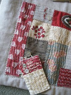 Thrilling Designing Your Own Cross Stitch Embroidery Patterns Ideas. Exhilarating Designing Your Own Cross Stitch Embroidery Patterns Ideas. Sashiko Embroidery, Japanese Embroidery, Embroidery Stitches, Embroidery Patterns, Hand Embroidery, Japanese Quilts, Japanese Textiles, Japanese Fabric, Kantha Quilt