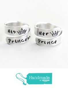 Her Prince His Princess Promise Rings
