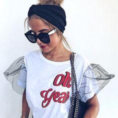 T Shirt Crop Top, T Shirt Diy, Dress Logo, Cool Outfits, Casual Outfits, Vetement Fashion, Tee Shirt Designs, Fashion Prints, Fashion Design