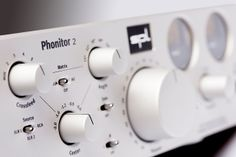#SPL #Phonitor2 120V Rail Headphone Monitoring Amplifier is also available in silver finish.