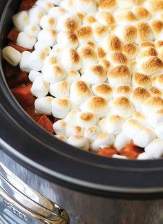 // Thanksgiving slow cooker recipeSweet Potato Casserole