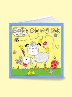 Easter colouring book now in stock at www.dizzyduckspartyco.com