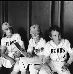 Jackie Earle Haley, Alfred Lutter III and Quinn Smith in The Bad News Bears