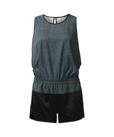 This effortless, breathable romper was designed to be the first thing you reach for after a sweaty class.