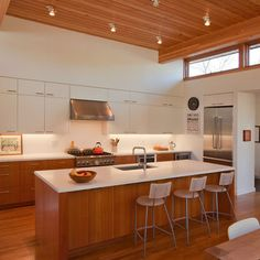 Mid Century Modern Kitchens Design Ideas, Pictures, Remodel, and Decor - page 28