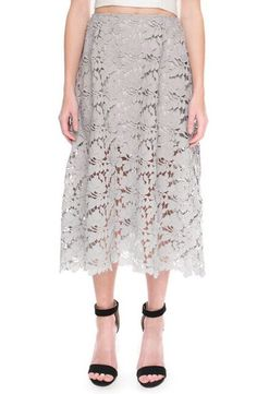 Keepsake the Label Keepsake the Label 'Say My Name' Lace Midi Skirt available at #Nordstrom