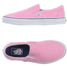 Vans Sneakers (500 ARS) ❤ liked on Polyvore featuring men's fashion, men's shoes, men's sneakers, shoes, pink, mens pink shoes, vans mens shoes, mens flat shoes, mens pink sneakers and mens round toe shoes