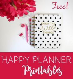 Free Happy Planner printables for all Happy Planners - mini, classic and big size. 101 different designs. Free instant d Happy Planner Cover, To Do Planner, Mini Happy Planner, Planner Layout, Free Planner, Planner Ideas, Planner Covers, 2015 Planner, Planner Diy