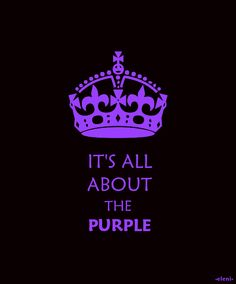 IT'S ALL ABOUT THE PURPLE - created by eleni