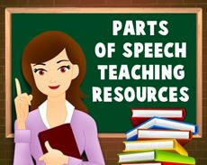This page provides a wealth of teaching resources to help students gain a clear and thorough understanding of the parts of speech.