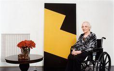 100 anos da artista Carmen Herrera http://arteseanp.blogspot.com