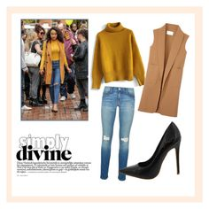 """""""Leigh Anne Pinnock: Stylish in Mustard"""" by wholesalefashionshoes ❤ liked on Polyvore featuring Rebecca Minkoff, Chicwish and Alexander Wang"""