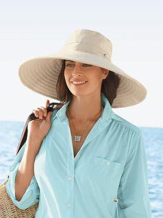 Women s Cotton Supreme Shade Hat f1f07b98e43