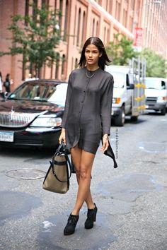 Cris Urena #streetstyle #fashion #modeloffduty