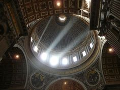 Dome at St. Peter's Basilica, Vatican City Photograph by Diana Kremitske