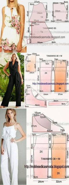 New Ideas Diy Ropa Mujer Fashion Patrones Sewing Dress, Sewing Pants, Dress Sewing Patterns, Sewing Clothes, Clothing Patterns, Sewing Coat, Skirt Patterns, Coat Patterns, Blouse Patterns