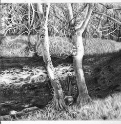 Landscape Drawing by ~duchess94