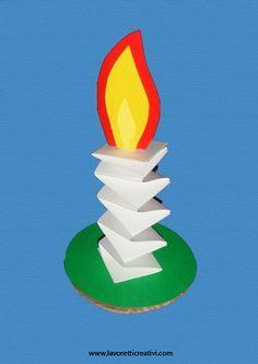 Come realizzare una semplice candela