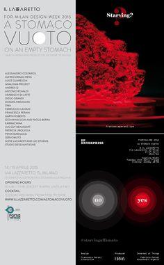 starving? #starvingaffamato designed by  francesca perani for a stomaco vuoto / on an empty stomach / exhibition FUORISALONE2015 mdw15 milandesignweek2015 isaloni acrilico acrylic metacrilato made by FIRMAsnc #astomacovuoto