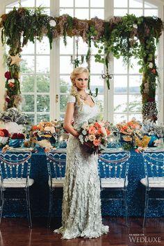 WedLuxe– Mermaid Garden | Photography by: Mango Studios Follow @WedLuxe for more wedding inspiration!