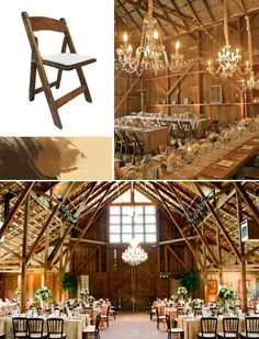 "Get The Look Rustic Barn Wedding.. at first I wanted an outside wedding, but after the wedding, I don't want everyone scattering....""keep the human beings prisoners"".....bahahahaha!!!!!!"