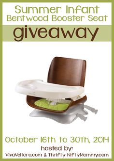 Looking for a stylish seating solution for your child? Summer Infant has you covered with their Bentwood Booster Seat, and we're giving one away to one lucky winner! Here is a little more information about the Summer Infant Bentwood Booster Seat from Amazon: The bentwood booster seat is a stylish, lightweight wood seat that is …