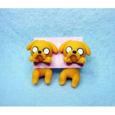 Jake Clinging Ears, cuelga orejas, hora de aventura,adventure time,earrings,pendientes,