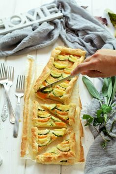 torta salata alle #verdure #vegitables