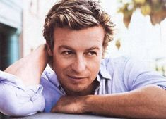Simon Baker. So adorable and handsome!