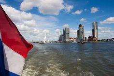 Boat ride through Rotterdam Rotterdam, Netherlands, New York Skyline, Boat, Travel, The Nederlands, The Netherlands, Dinghy, Viajes