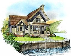 Cottage On Pinterest House Plans Square Feet And Cottage House