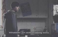Sid // whatever.  I'm sick of saying sorry