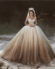 15 Gold Wedding Gowns For Bride Who Wants To Shine ❤️ gold wedding gowns ball gown sweetheart neckline champagne ombre saidmhamadofficial V Neck Backless Lace Mermaid Cheap Wedding Dresses Online, Cheap Bridal Dresses Cute Prom Dresses, Ball Dresses, Bridal Dresses, Ball Gowns, Gold Wedding Gowns, Princess Wedding Dresses, Dream Wedding Dresses, Ombre Wedding Dress, Wedding Bells