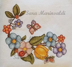 THUN SCHEMI PUNTO CROCE C2c, Cross Stitch Flowers, Holidays And Events, Diy And Crafts, Letters, Embroidery, Crochet, Hobby, Crossstitch