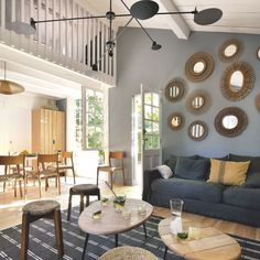 Renovated fisherman's house for family vacation in Cape Town – Holiday and camping ideas Tropical Beach Houses, Mini Loft, Surf House, Home Repairs, Home Pictures, Blue Walls, Home Staging, Outdoor Furniture Sets, Sweet Home