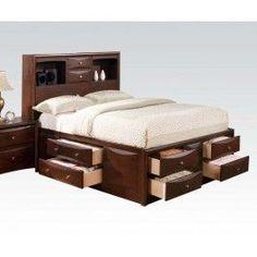 ACMEF04085F-Kit - Espresso Full Bed