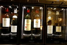 Wine Dispenser serving Petrus