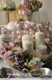 Znalezione obrazy dla zapytania dekoracje wielkanocne Table Decorations, Furniture, Holidays, Home Decor, Holidays Events, Decoration Home, Room Decor, Holiday, Home Furnishings