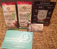 #gotitfree #trynatural #socialnature #sunwarrior #illumin8 #plantbased #organic #mealreplacement #aztec #chocolate #vanilla #natural #ilovefreestuff #freetotry #itworks #gnc #nutrition #protein #minerals #vitamins #fiber #raw #superfood #vegan #dairyfree #glutenfree #soyfree #nosugar