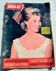 REVISTA HOLA AÑO 1964. BODA DE MARGARITA DE SUECIA...
