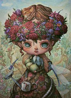 La pinturas de Maria Tiurina   OLDSKULL