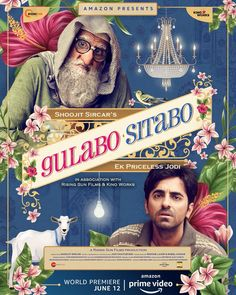 Gulabo Sitabo, Starring Amitabh Bachchan And Ayushmann Khurrana, Will Release On Prime Video Latest Movies, New Movies, Movies Online, Watch Movies, Mika Singh, Motion Poster, Amitabh Bachchan, Amazon Prime Video