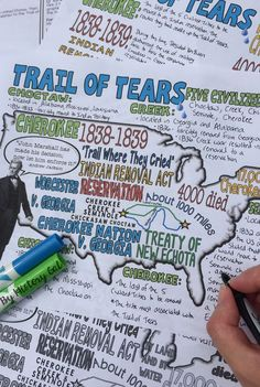Looking for an engaging way to teach the Trail of Tears? These Trail of Tears doodle notes from History Gal are a students favorite! Your 6th, 7th, 8th, 9th, 10th, and 11th grade students will enjoy learning about this piece of Native American and US History with this 10 page resource! Click through to see how this will work in your middle school or high school classroom! $